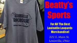 Louisville Leopards Lacrosse Shirt 2016 Beatty's Sports