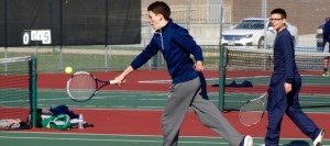 Boys Tennis Blanks West Branch to Improve to 4-0