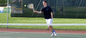 Spencer Hall Louisville Leopards Boys Tennis Vs. Canton South Wildcats 2016
