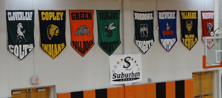 Suburban League Banners