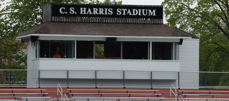 C.S. Harris Stadium Press Box Chagrin Falls Tigers