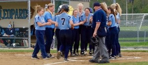 Kaycee Ollis Solo Homer Louisville Leopards Softball 2016 Vs. Marlington Dukes