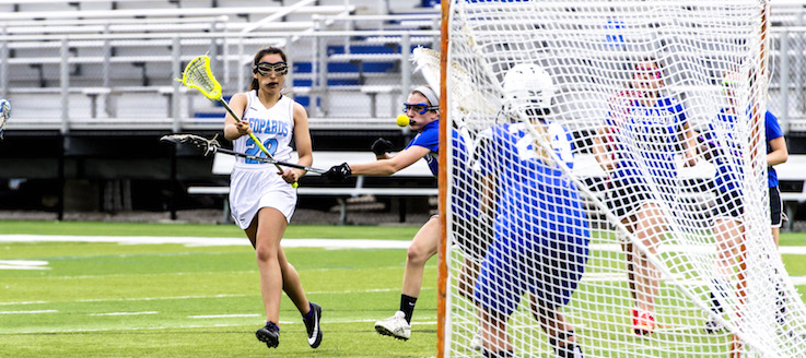 Sophia Morel Louisville Leopards Girls Lacrosse Vs. Poland Seminary Bulldogs 2016