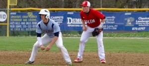 Baseball Erupts Early in 11-1 Run-Rule Win Over Quakers