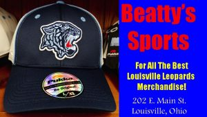 Beatty's Sports Fall 2016 Louisville Leopards Blue Hat