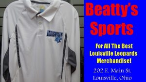 Beatty's Sports Louisville Leopards Fall 2016 White Polo