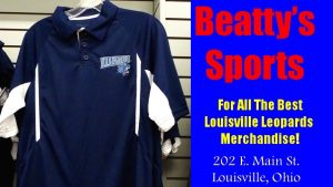 Louisville Leopards Blue Polo Shirt Fall 2016 - Beatty's Sports