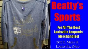 Louisville Leopards Blue Women's Shirt Fall 2016 - Beatty's Sports