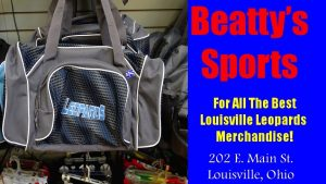 Louisville Leopards Grey Bag - Beatty's Sports - Fall 2016