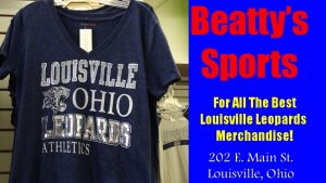 Louisville Ohio Leopards Athletics Dark Navy Blue Shirt Fall 2016 - Beatty's Sports