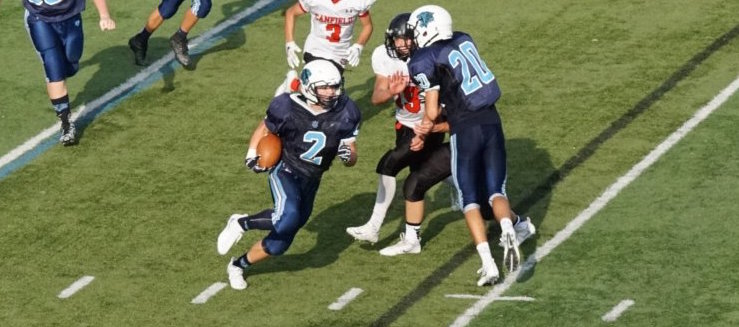Davis Burick Louisville Leopards Freshman Football Vs. Canfield Cardinals 2016