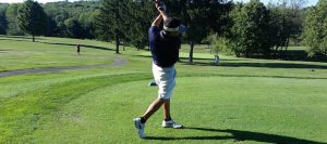 Boys Golf Shoots Season Low in Win at Canton South