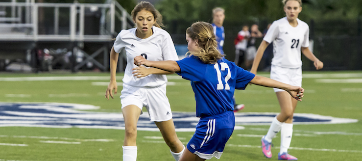 Madison Novosel Louisville Leopards Soccer 2015