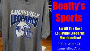 Beatty's Sports Louisville Leopards Football 2016 Grey Schedule Shirt