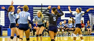 Volleyball Earns Sweep at West Branch, Now 9-0 in NBC