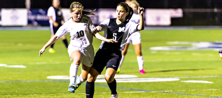 Maddie Berkebile Louisville Leopards Vs. Massillon Tigers Girls Soccer 2016