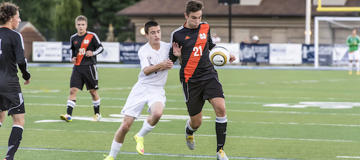 Mitch Perez Louisville Leopards Vs. Marlington Dukes Boys Soccer 2015
