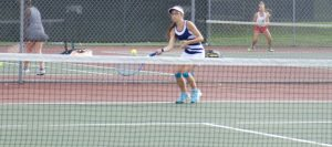Girls Tennis Wins 60th Straight NBC Match, Alone in 1st