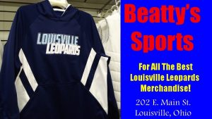 Beatty's Blue Louisville Leopards Hoodie