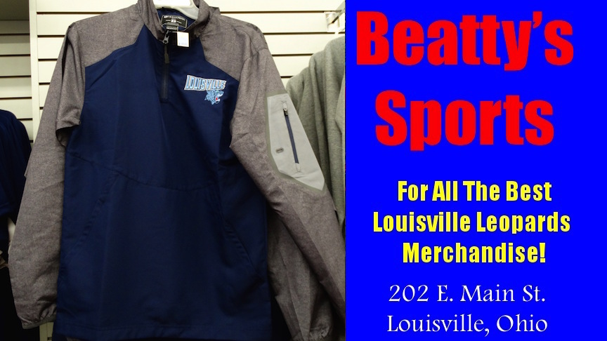 Beatty's Blue Louisville Logo Coat