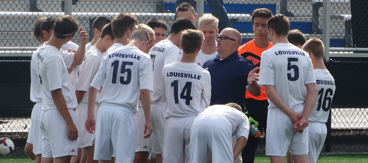 Coach John Henkel Louisville Leopards Boys Soccer 2016