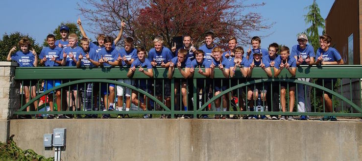 Louisville Leopards Boys Cross Country 2016 NBC Champions