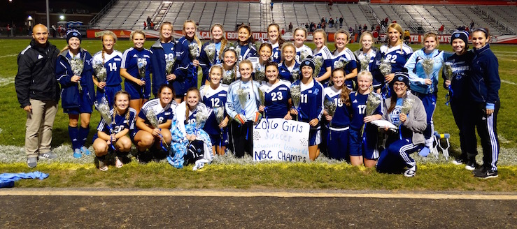 Louisville Leopards Girls Soccer 2016 NBC Champions