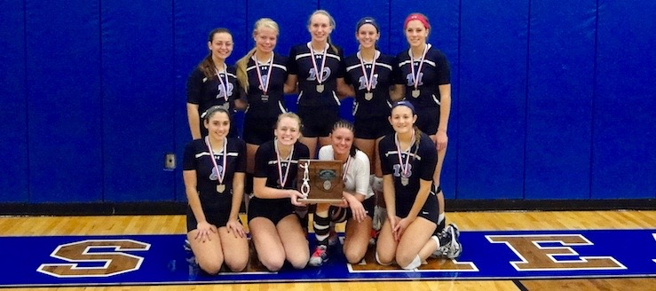 Louisville Leopards Volleyball 2016 DI Uniontown District Runner Up