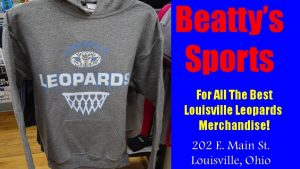 Beatty's Sports Louisville Leopards Basketball 2016-17 Hoodie