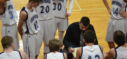 Austin Shaheen Coaches Louisville Leopards Boys Freshman Basketball in NBC Tournament