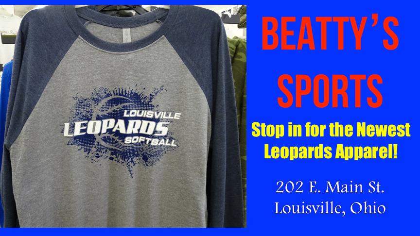 Beatty's Sports - Louisville Leopards Softball Shirt 2018