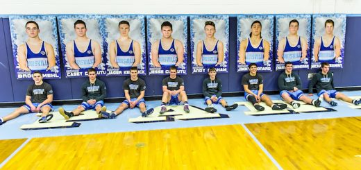 Louisville Leopards Wrestling Seniors 2017