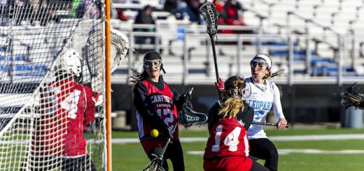 Haley Black Louisville Leopards Vs. Canfield Cardinals Girls Lacrosse 2017