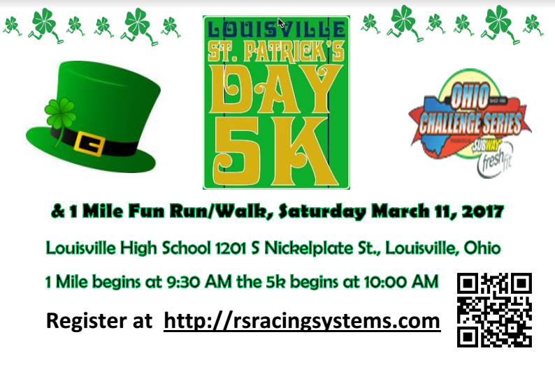 Louisville St. Patrick's Day 5K Race 2017