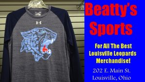 Leopard Head Long Sleeve Blue Shirt - Under Armor - Beatty's Sports Spring 2017
