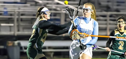 Mandy Wesely Louisville Leopards Girls Lacrosse Vs. GlenOak Golden Eagles 2017
