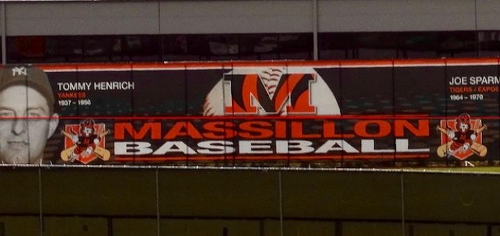 Massillon Tigers Baseball Banner