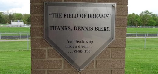 The Field of Dreams Sign - Louisville Leopards Baseball