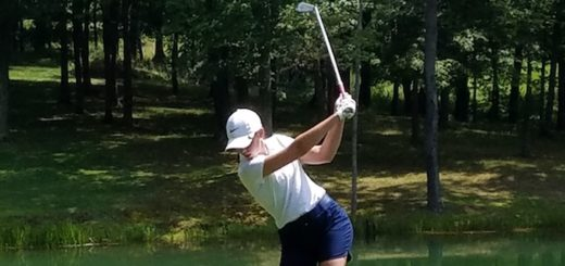 Alexis Beaver Louisville Leopards Golf At Spring Hill