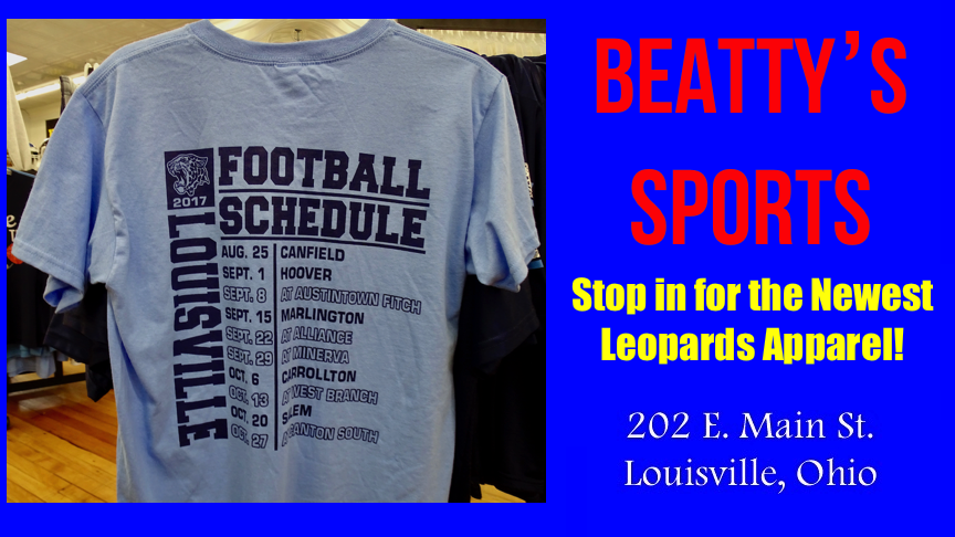 's Sports Louisville Leopards Football Schedule Shirt 2017