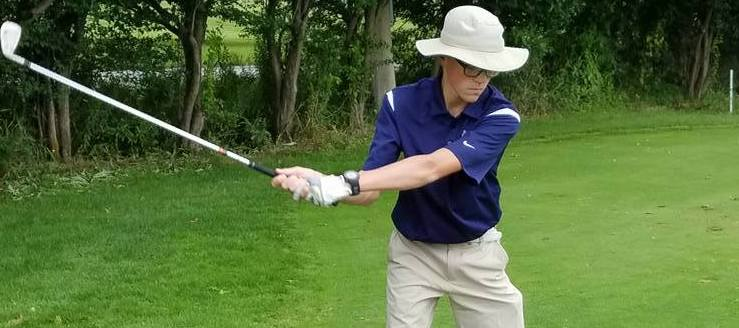 Connor Wendt Louisville Leopards Boys Golf 2017 at Flying B