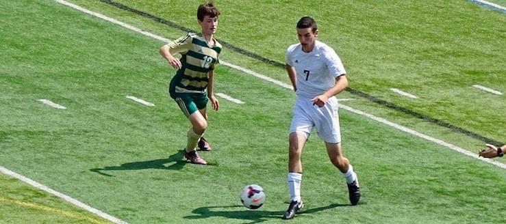 Jack Strzyzynski Louisville Leopards Boys Soccer Vs. Firestone Falcons 2017