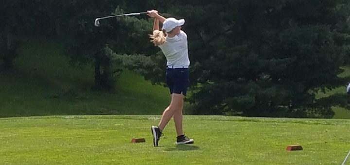 Karli Redinger Louisville Leopards Girls Golf at Spring Hill