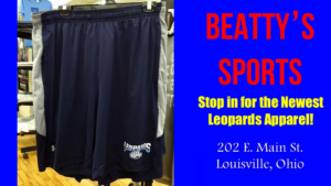 Louisville Leopards Shorts with Claw Logo