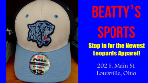 Louisville Leopards White and Blue Hat 2017