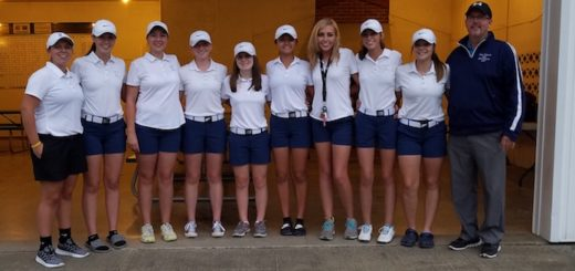 Louisville Leopards Girls Golf Team 2017