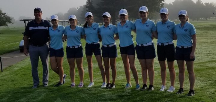 Louisville Leopards Girls Golf at Tri-County Postseason Tournament 2017