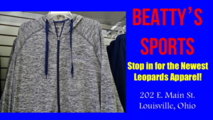 Louisville Leopards Grey and White Jacket - Beatty's Sports Fall 2017