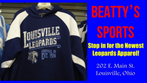 Louisville Leopards Navy Blue Hoodie Established 1924 - Beatty's Sports Fall 2017