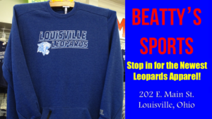 Louisville Leopards Sweatshirt Fall 2017- Beatty's Sports